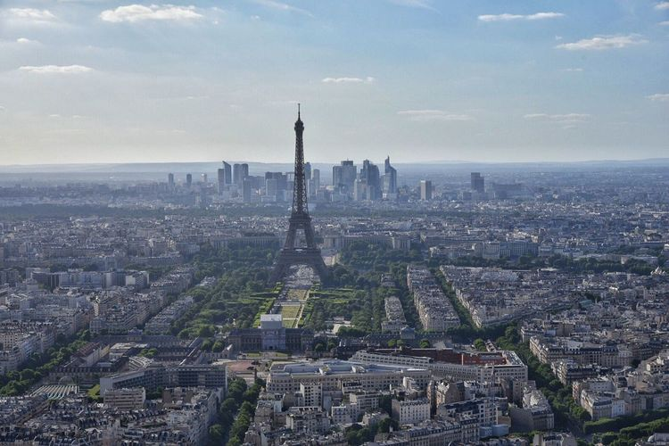 Tour Eiffel France Travel Destinations Amazing View Full Frame Amazing Architecture Architecture Cityscape Built Structure Sky Building Exterior City Tourism Outdoors No People Cloud - Sky Travel History Day Skyscraper Nature (null)Nikon D750 Nikonphotography The Architect - 2017 EyeEm Awards Been There.
