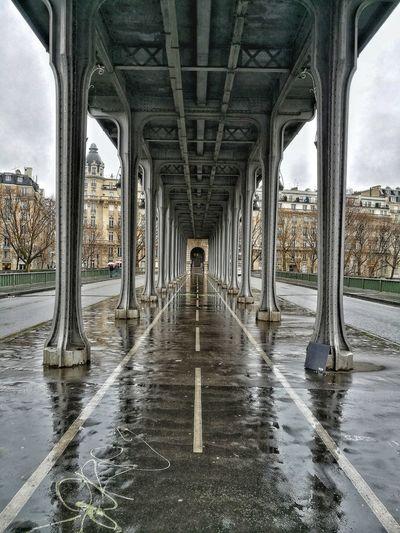 Underneath View Of Bridge