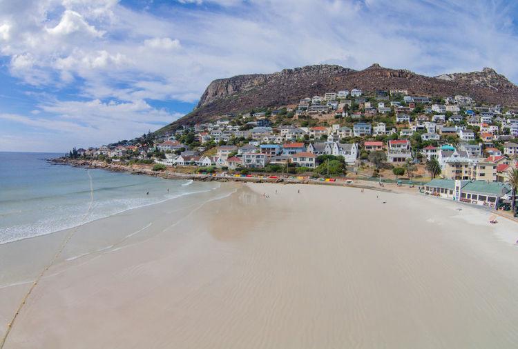 Beach Calm Coastline Horizon Over Water Sand Sea Seascape Shore Tranquil Scene Tranquility Water Birds Eye View