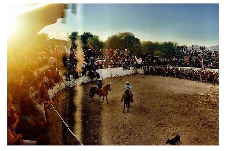 Out in the desert mountains 🌵☀️ Mexico Slp SanJoseDelTerremoto Jaripeo Spectator BullRiders Art Is Everywhere