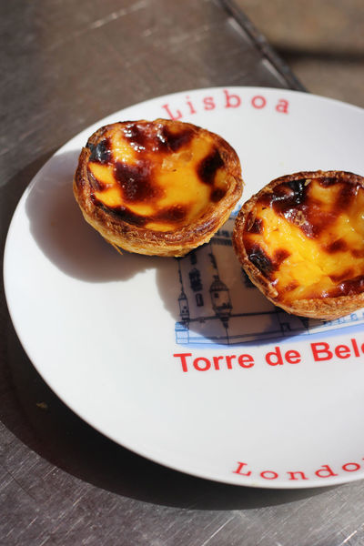 Portugues Pasteis de Nata on a plate Cake Close-up Communication Custard Tart Day Dessert Food Food And Drink Freshness Indoors  Indulgence No People Pastei De Nata Pasteis Pasteis De Belem Pasteisdebelem Pasteisdenata Pastéis De Nata Plate Ready-to-eat Sweet Food Table Temptation Unhealthy Eating
