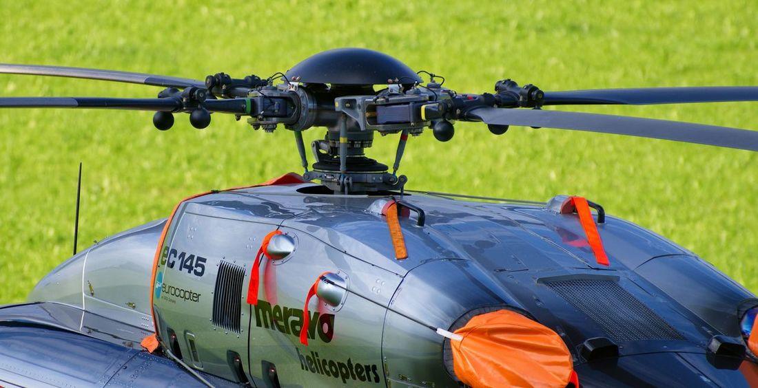 Rotor des Eurocopter EC 145 Eurocopter Helicopter Rotor Ec 145