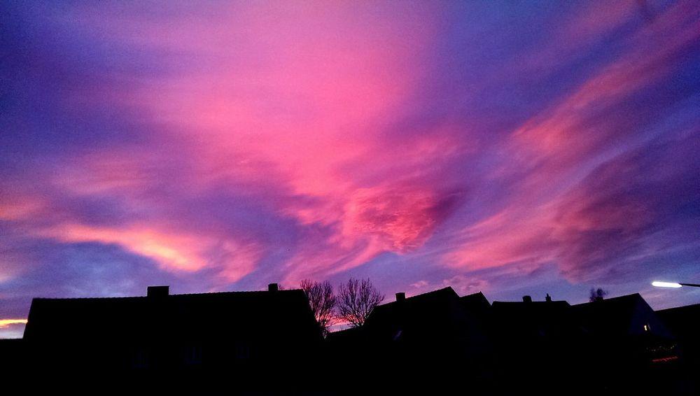 PinkSky! Beautiful Day Wonderful Sunset 🌇 EyeEm Best Shots - Sunsets + Sunrise