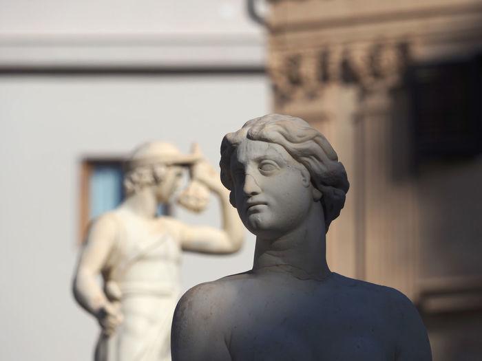 Close-up of statue