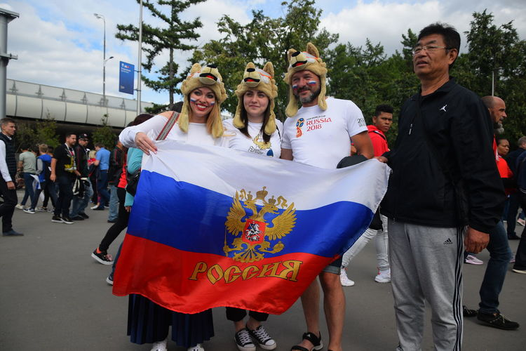 Contact me : roman@alyabev.com Fifa Football Moscow Adult Day Emotion Fan Fans Females Fifa18 Fifa2018 Front View Group Of People Happiness Leisure Activity Lifestyles Looking At Camera Men Outdoors People Portrait Real People Smiling Togetherness Women Young Adult