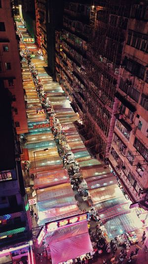 Hong Kong From The Rooftop