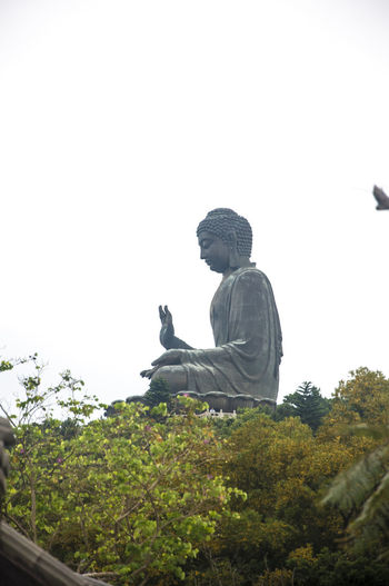 Statue of the Buddha in Ngong Ping 360 located in Lantau Island in Hongkong. Buddha Buddhism Hong Kong Lantau Island Ngong Ping 360 Outdoors Religion Religous Statue Taoism