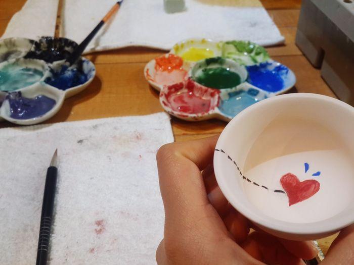 소주잔이 없어서 만들어버렸다^.^ I Made It  Handmade Art Check This Out Lovely