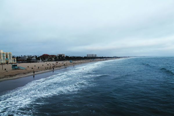 Oceanography Travel Photography Beach Sea Water Santa Monica Ocean Waves Shoreline Live For The Story Place Of Heart Summer Fun Beach Life City Life California Calovefornia The Great Outdoors - 2017 EyeEm Awards The Photojournalist - 2017 EyeEm Awards Sommergefühle Sommergefühle