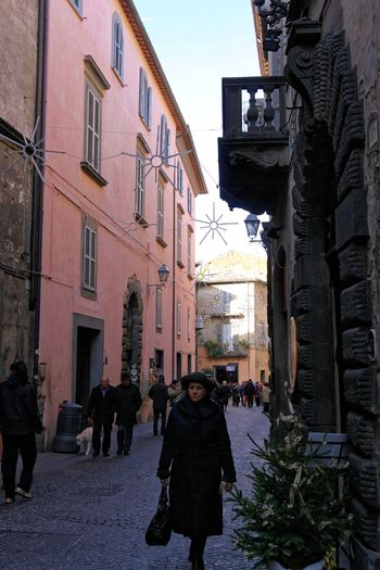 Orvieto, Italy Travel Travel Photography Traveling Architecture Building Exterior Built Structure City Day Italian Italy Large Group Of People Men Orvieto Outdoors People Real People Sky Travel Destinations Walking Warm Clothing Women