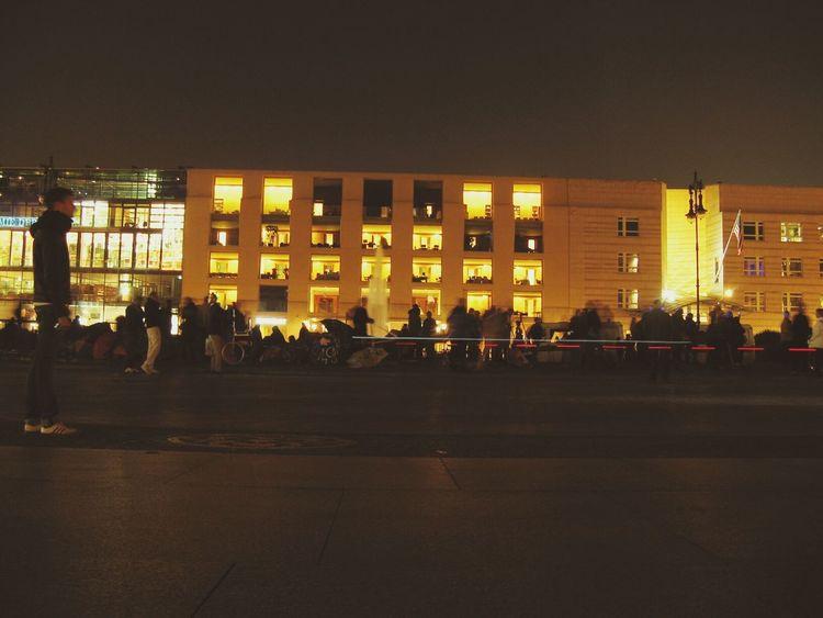Pariser Platz. Berlin Berliner Lichter Night Night Lights