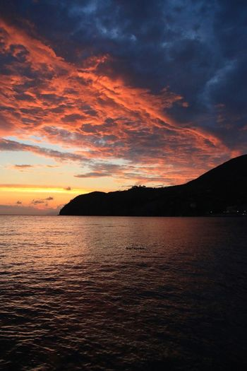 43 Golden Moments Sunset Vacation Time Summer Water_collection Sky And Water Italia Mountainscape Sky And Clouds Sky And Sea Clouds And Sky Scenery Beautiful Sunset Dramatic Sky Levanto Cinque Terre Liguria No Filter No Edit/no Filter Bella Italia