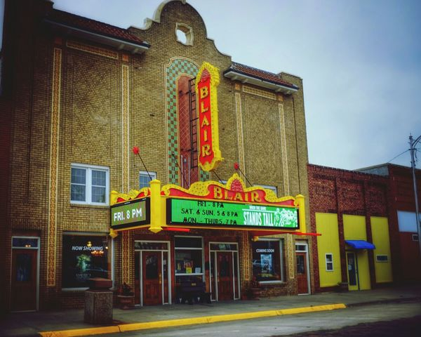 Filmic Cinema Theater Architecture Rural America