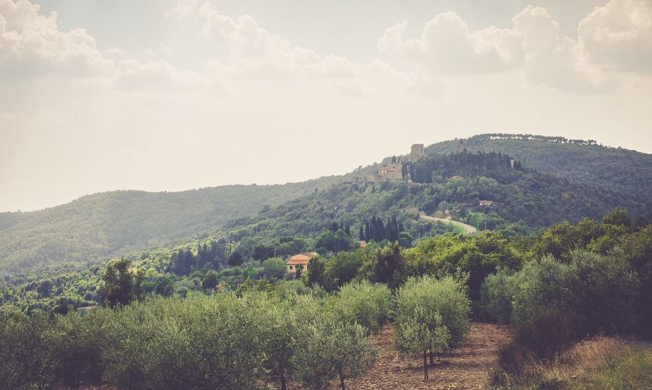 Italy Landscape Mountain Sky Outdoors No People First Eyeem Photo Italy Wien Toscana Cloud - Sky Day