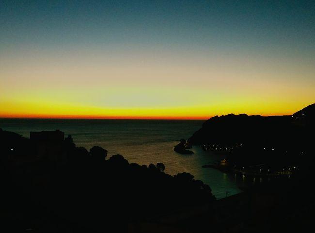 Portbou amanecer