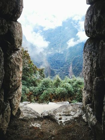 How's The Weather Today? From my window... Best Weather Window To The World MachuPicchu