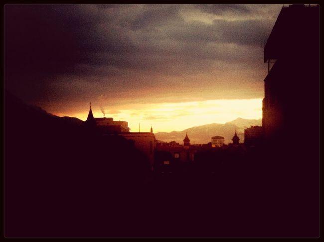 Wunderschönen Guten Morgen Innsbruck! Sunrise Great Views Goodmorning