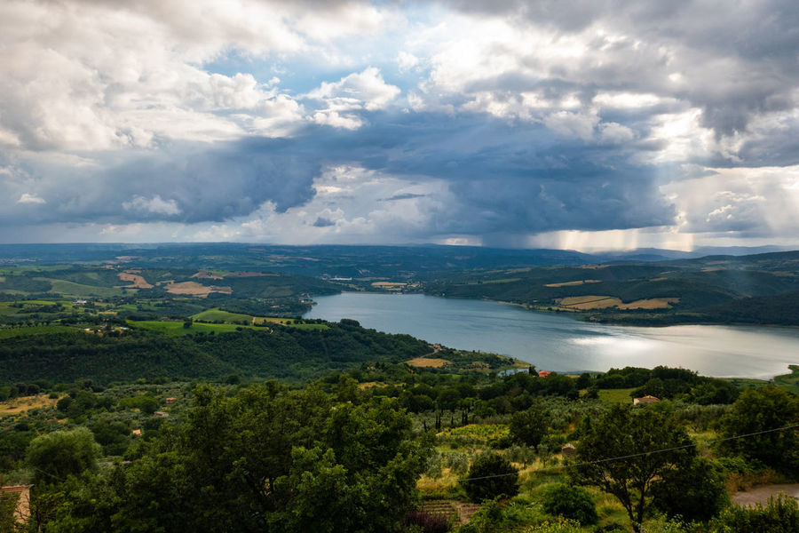 EyeEm Nature Lover EyeEmNewHere Green Rain Beauty In Nature Cloud - Sky Europe Italy Lago Di Corbara Lake Land Landscape Nature No People Non-urban Scene Outdoors Scenics - Nature Sky Tourism Tranquil Scene Tranquility Travel Destinations Umbria Water