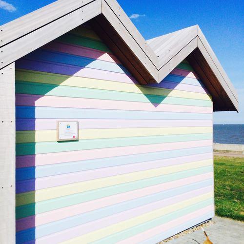 Beachphotography Britishweather Beach Beach Huts Love Sand Sea