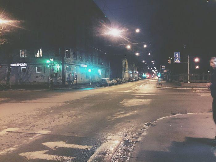4 часа утра, возвращаемся домой..