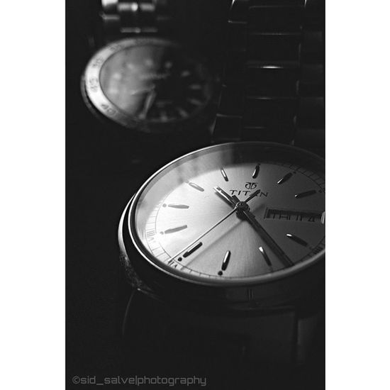 Because I'm in L O V E with Monochrome and a Watch⌚ 😍 Sid_salvephotography Titan