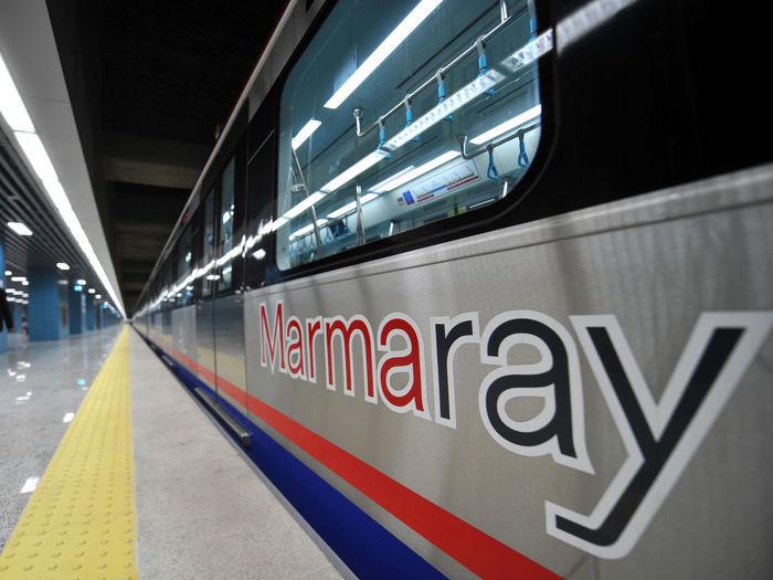 Marmaray Rayhaber Subway Subway Station TCDD Yht