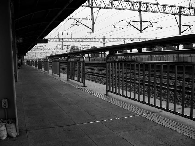 Suwon, Korea Suwon Station Army Railroad Station Public Transportation Rail Transportation Travel Destinations Train - Vehicle Day Journey Railroad Track Railroad Station Platform