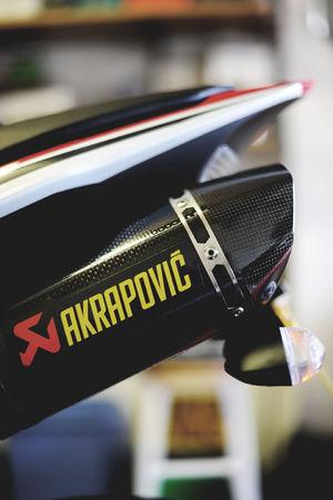 AkrapovicExhaustSystem Akrapovic Exhaust Music For My Ears