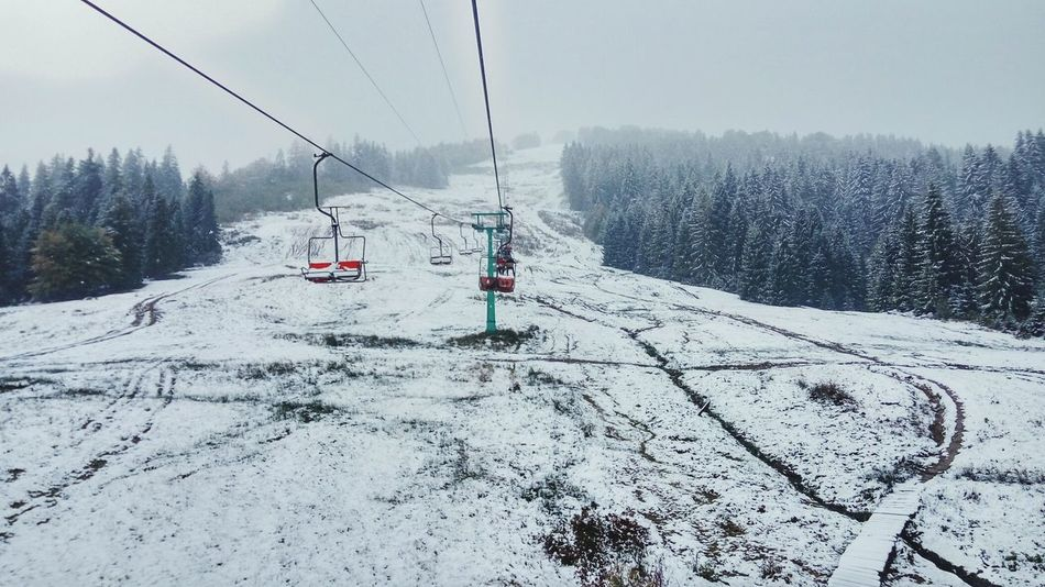 TakeoverContrast Snow 6october Weather Winter Mountains First Eyeem Photo Tree House Karpaty Mountain