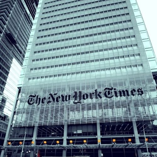 new york times✨نيويورك_امريكا