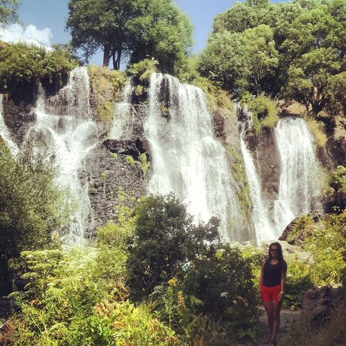 Hi! That's Me Waterfall Paradise Summer2015 Lovelyday💛