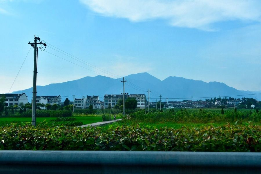 Zhejiang,China Roadtrip Colors Wide Angle Mountains Nature Contrast China On The Way