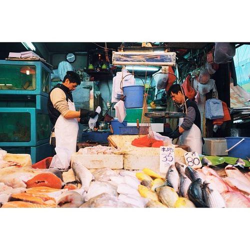 Fishmongers, Sheung Wan, Hong Kong. Travel Travelphotography Vscocam Ricohgr hongkong