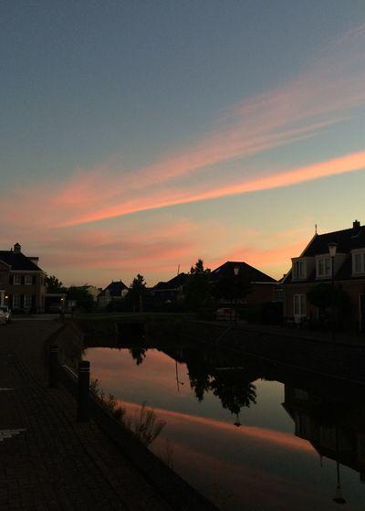 Sunrise Sunrise Pink Beauty In Nature Assendelft Holland The Netherlands