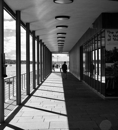 Shadows at Tjuvholmen in Oslo. Norway 🇳🇴 Oslo Visitoslo FujiX100T Blackandwhite Blackandwhite Photography