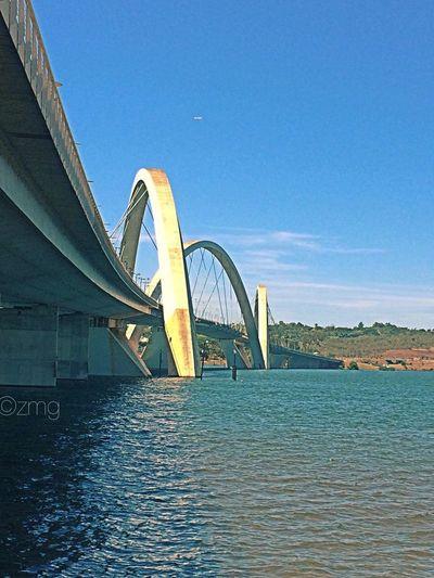 Muita ponte pra pouco lago... Bridge - Man Made Structure Architecture Built Structure No People
