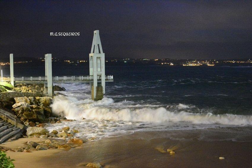 Temporal en A Coruña Alertavermella Coruña