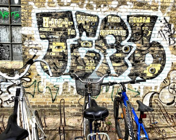 Graffiti Streetart Bikes Freedom Freetown Christiania