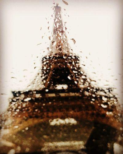 Eiffel Tower RainDrop Rain Eiffel Tower Drop Wet