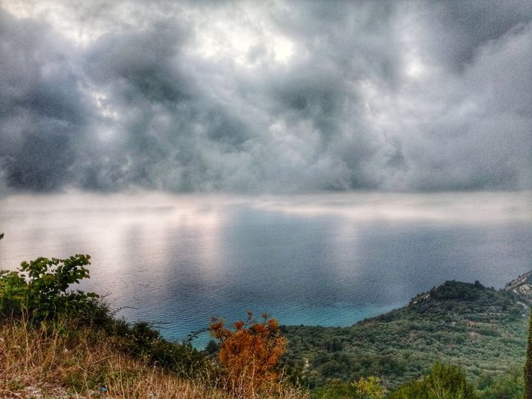 Dramatic Sky Dramatic Landscape Amazing View Amazing Nature Amazing Sky Panoramic Photography Panorama Viewpoint The Week on EyeEm Sea And Sky Sea Vacation Water Tree Lake Mountain Astronomy Sky Landscape Cloud - Sky Thunderstorm