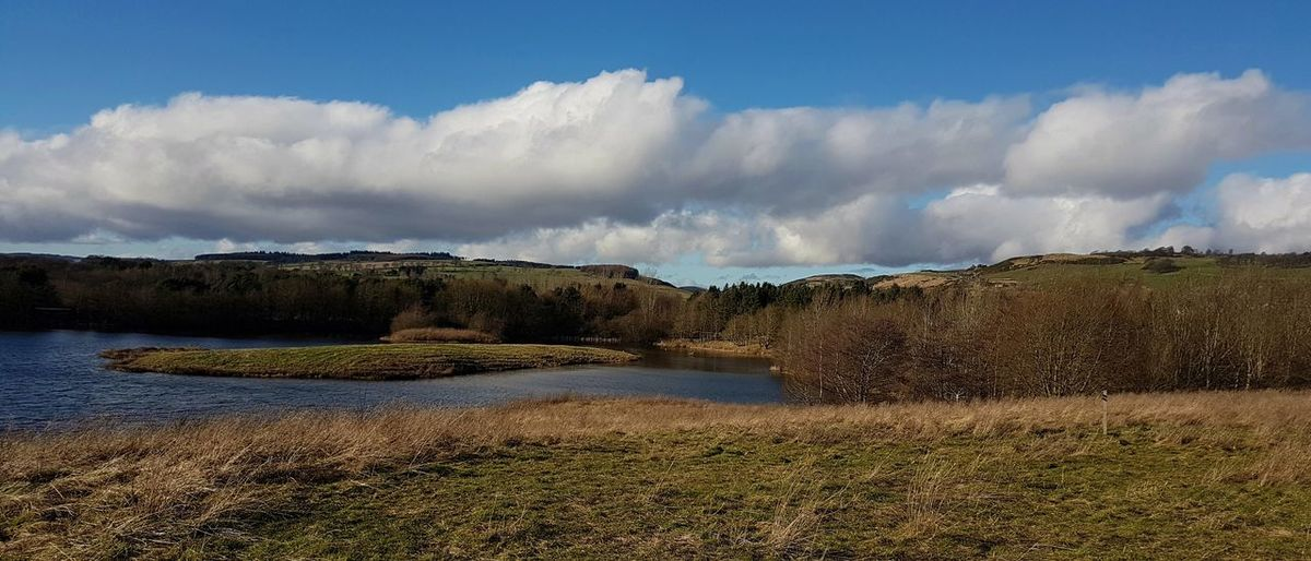 Landscape Nature Cloud - Sky Scenics Beauty In Nature Outdoors Water Day Sky No People Fife  Birnieloch Scotland
