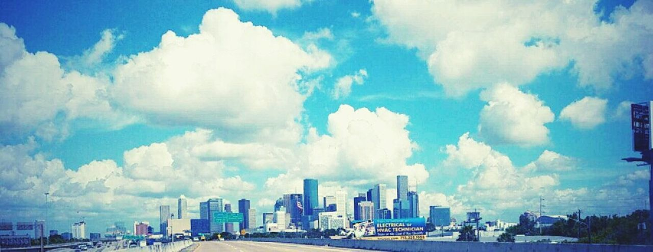 H-town Downtown Skyscraper Cloud - Sky Sky Travel Destinations Travel City Day First Eyeem Photo