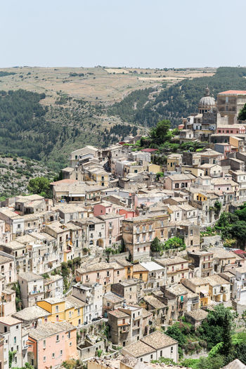 Architecture City City Life Cityscape High Angle View House Italien Italy No People Oldtown Ragusa Ragusa Ibla, Sicily Sicilia Sicily Sizilien Town TOWNSCAPE
