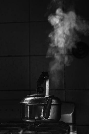 Daily B&w Boiling Domestic Kitchen Domestic Room Home Kitchen Kitchen Utensil