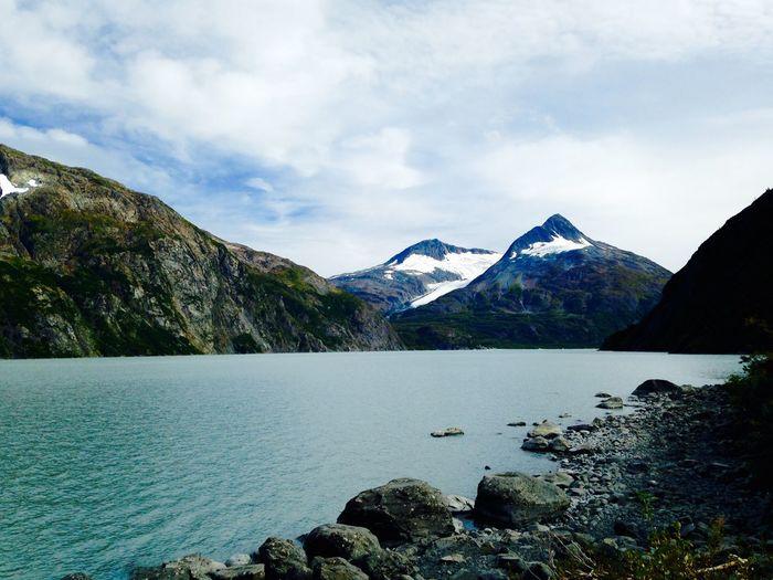 Edge Of The World Alaska Ak  907 My Alaska Portage Glacier Portage Lake Cruise
