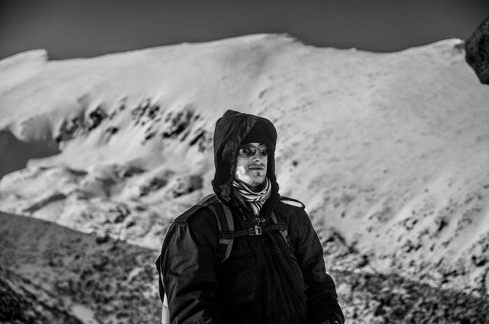 Hiking Slovakia Mountains Winter Europe