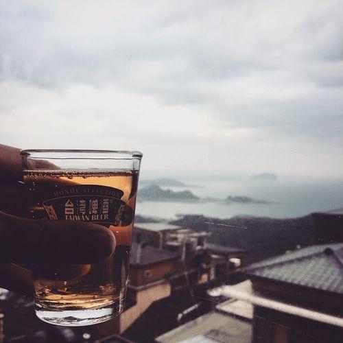 Beer Sightseeing Taiwan Vacations Jiufen Ocean Spirited Away Village