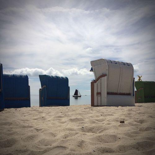 Ship Water Sand