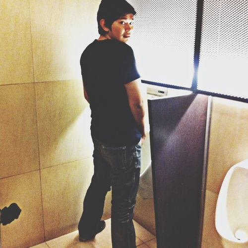 Throwback Bathroom Pic