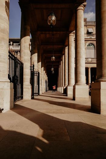 Architecture Built Structure Architectural Column Sunlight Building Shadow The Way Forward Day In A Row Direction Colonnade Corridor Lighting Equipment Arch The Art Of Street Photography